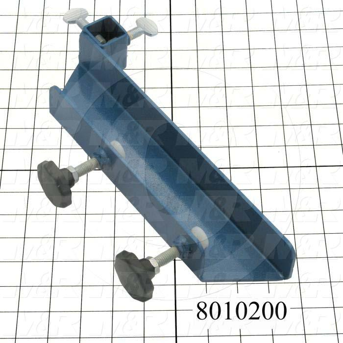 Fabricated Parts, Screen Arm Assembly, 12.00 in. Length, 1.75 in. Width, 3.75 in. Height, Left Side