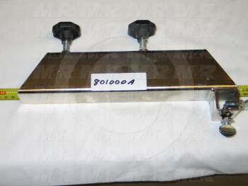 Fabricated Parts, Screen Arm Right Assembly, 12.00 in. Length, 1.75 in. Width, 3.75 in. Height