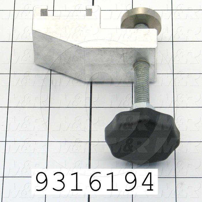 Fabricated Parts, Screen Clamp Assembly, 4.38 in. Length