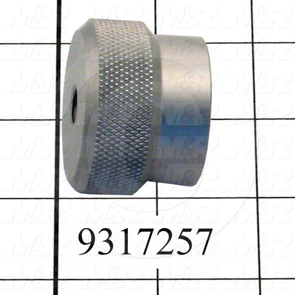 Fabricated Parts, Screen Clamp Knob, 1.25 in. Length, 1.75 in. Diameter