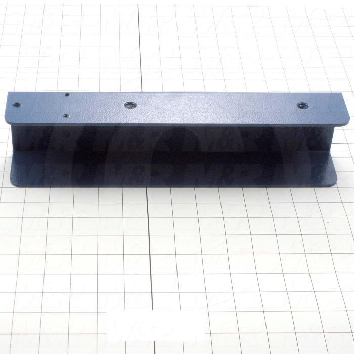 Fabricated Parts, Screen Holder, 13.75 in. Length, 3.25 in. Width, 2.38 in. Height, Right Side