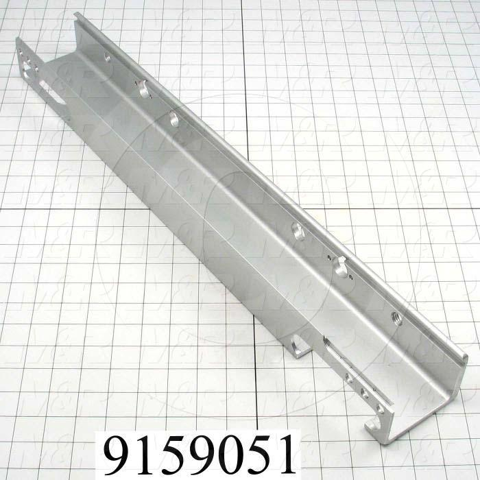 Fabricated Parts, Screen Holder For Air Locks, 25.00 in. Length, 2.38 in. Width, 3.35 in. Height