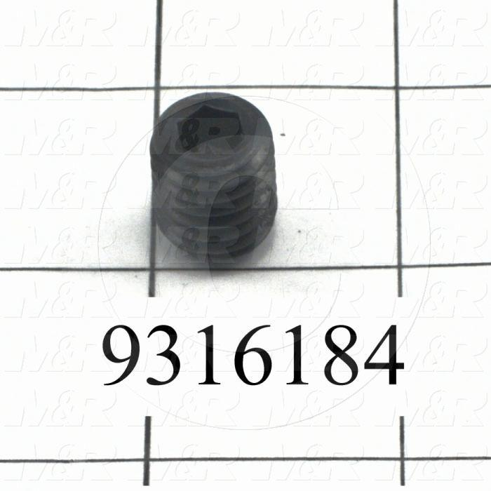 Fabricated Parts, Screen Holder Lock Screw, 0.63 in. Length, 0.50 in. Diameter