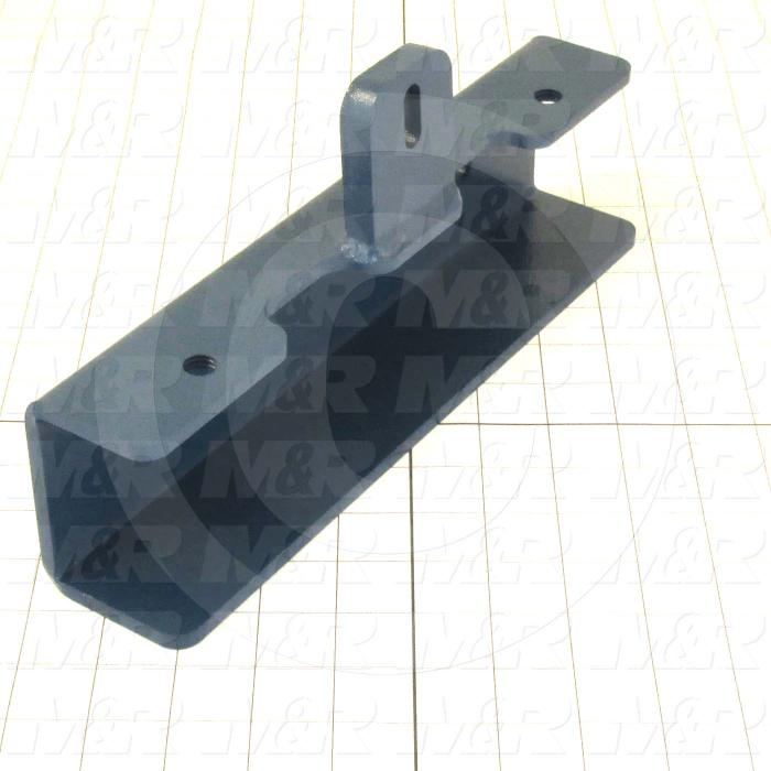Fabricated Parts, Screen Holder Weldment, 12.00 in. Length, 5.55 in. Height