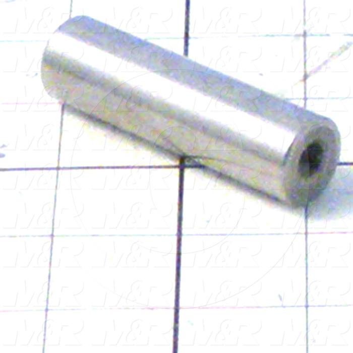 Fabricated Parts, Screen Up-Down Shaft, 2.63 in. Length, 0.75 in. Diameter