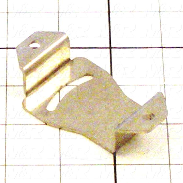 Fabricated Parts, Sensor Bracket, 3.22 in. Length, 1.75 in. Width, 0.75 in. Height