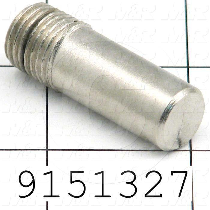 Fabricated Parts, Shaft For Gun, 1.50 in. Length, 0.50 in. Diameter