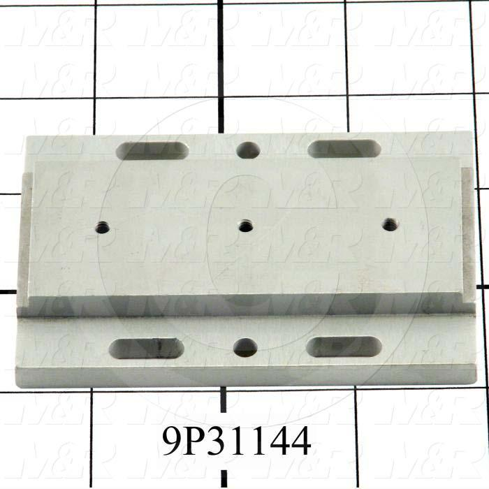 Fabricated Parts, Sheet Locator Cylinder Attachment, 3.50 in. Length, 2.38 in. Width, 0.50 in. Height