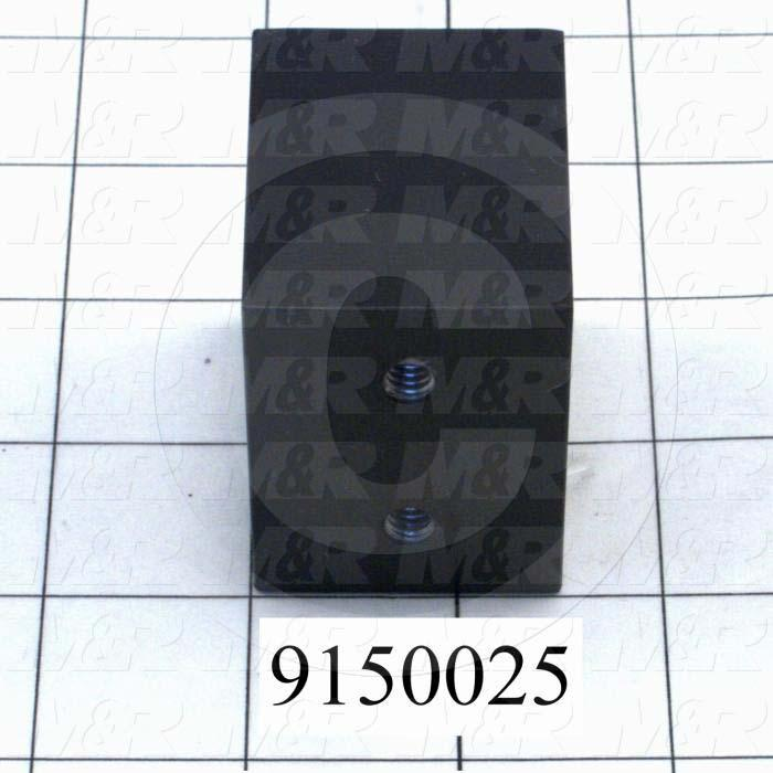 Fabricated Parts, Shock Stop Block, 2.00 in. Length, 1.88 in. Width, 1.50 in. Height