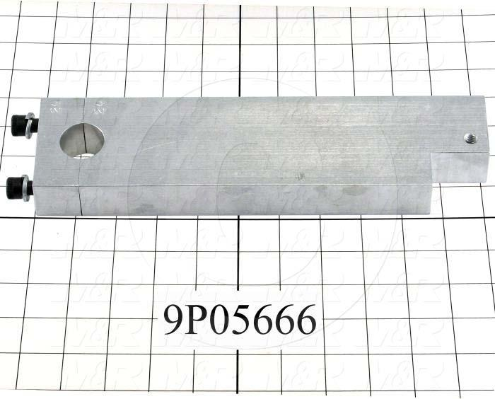 Fabricated Parts, Shutter Activating Lever, 9.25 in. Length, 1.63 in. Width, 1.00 in. Thickness