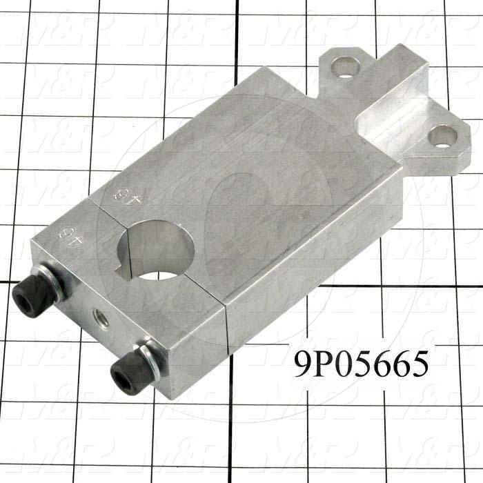 Fabricated Parts, Shutter Cylinder Lever, 5.38 in. Length, 2.50 in. Width, 1.00 in. Height