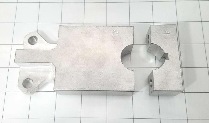 Fabricated Parts, Shutter Cylinder Lever, 5.63 in. Length, 2.50 in. Width, 1.00 in. Height