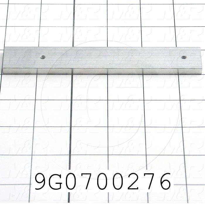 Fabricated Parts, Side Arm, 5.63 in. Length, 0.875 in. Width, 0.25 in. Thickness, Remove All Burrs