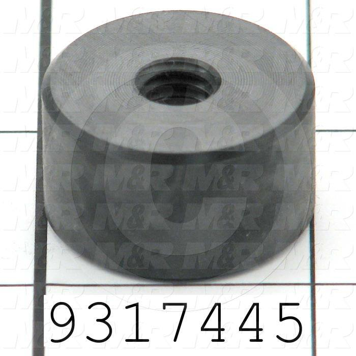 Fabricated Parts, Side Bearing, 1.00 in. Diameter, 0.56 in. Thickness