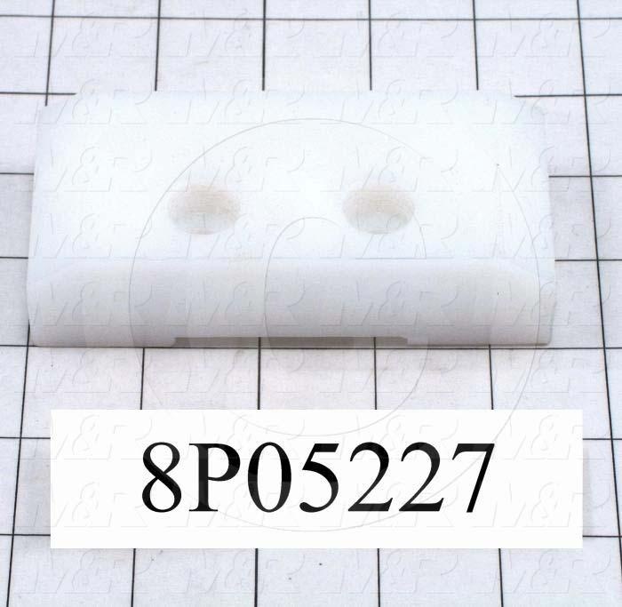 Fabricated Parts, Slide Block, 4.50 in. Length, 2.13 in. Width, 1.00 in. Thickness