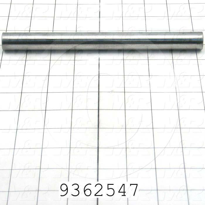 Fabricated Parts, Slider, 8.25 in. Length, 0.75 in. Diameter, Rear Side
