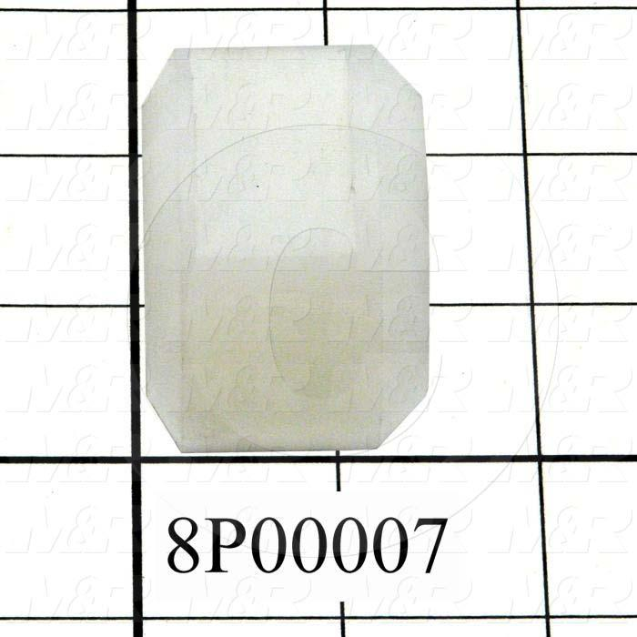 Fabricated Parts, Sliding Bushing Housing, 1.38 in. Length, 2.00 in. Diameter