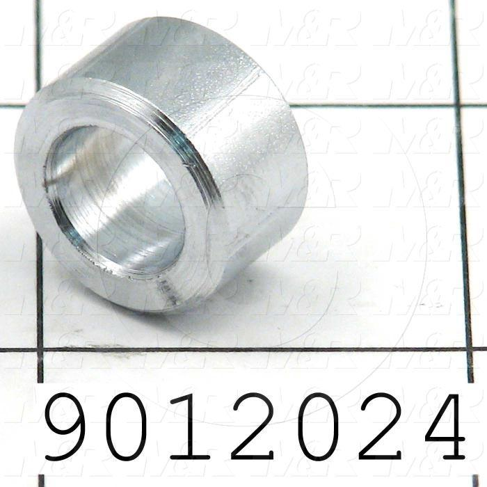 Fabricated Parts, Spacer, 0.38 in. Length, 0.63 in. Diameter