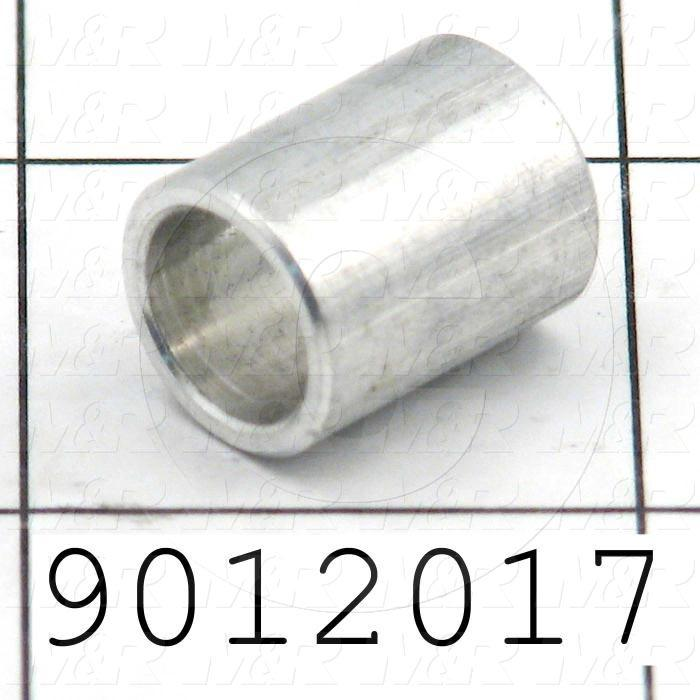Fabricated Parts, Spacer, 0.63 in. Length, 0.50 in. Diameter