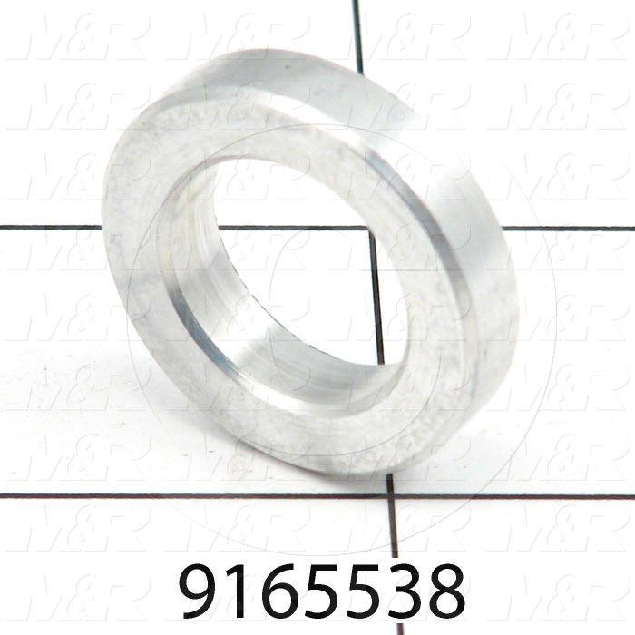 Fabricated Parts, Spacer, 1.00 in. Diameter, 0.22 in. Thickness