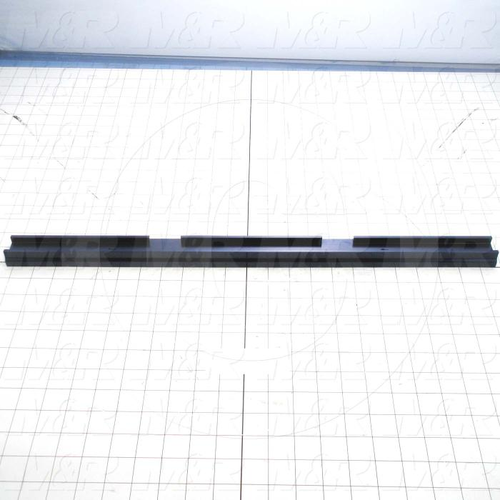 Fabricated Parts, Spec Rear Locking Bar, 23.00 in. Length, 1.58 in. Width, 0.88 in. Height
