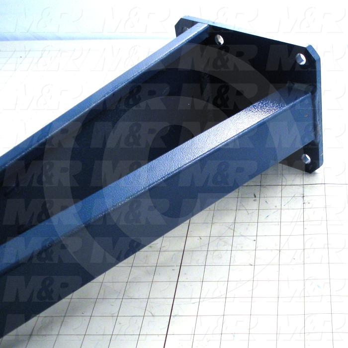 Fabricated Parts, Spider Arm Weldment, 60.37 in. Length, 6.50 in. Width, 8.00 in. Height