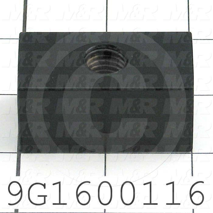 Fabricated Parts, Spring Bracket, 2.00 in. Length, 1.00 in. Width, 1.00 in. Height, E-Coat Finish