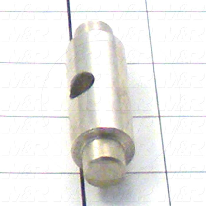 Fabricated Parts, Spring Bracket, 3.38 in. Length, 0.75 in. Diameter