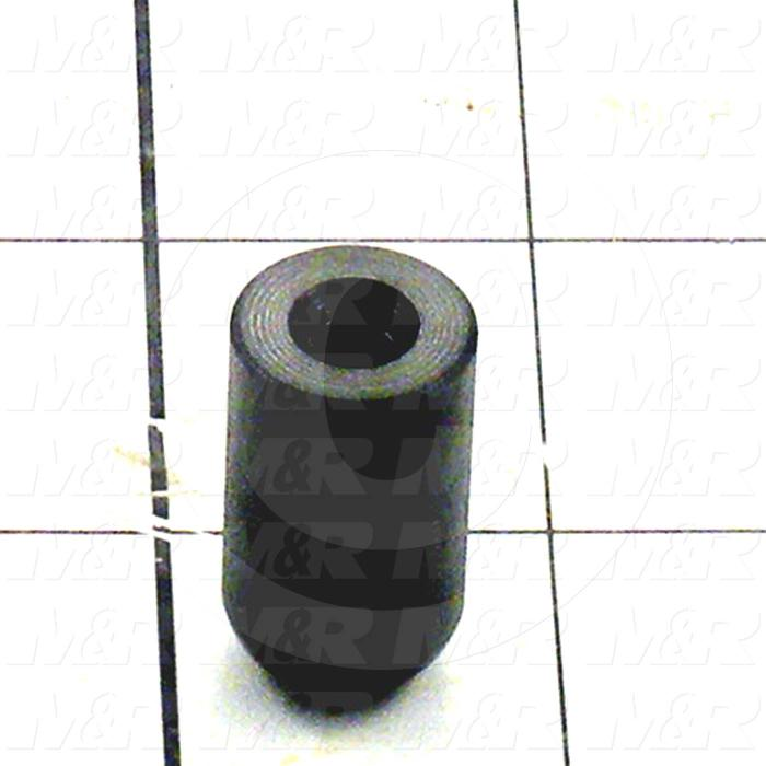 Fabricated Parts, Spring Stop Cap, 1.13 in. Length, 0.63 in. Diameter