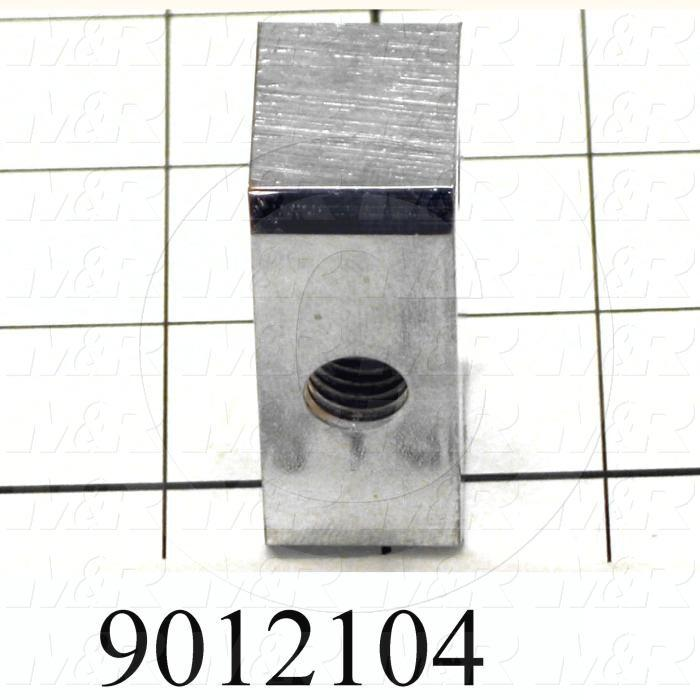 Fabricated Parts, Spring Tension Nut, 2.25 in. Length, 1.25 in. Width