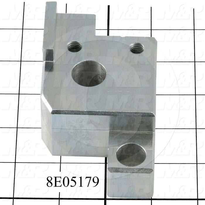 Fabricated Parts, SQ. CYL CLAMP R.H., 4.00 in. Length, 2.50 in. Width, 1.56 in. Height