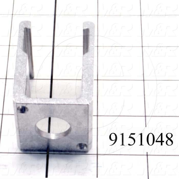 Fabricated Parts, Squeegee Flood Bar Clamp, 2.19 in. Length, 1.53 in. Width, 1.50 in. Height