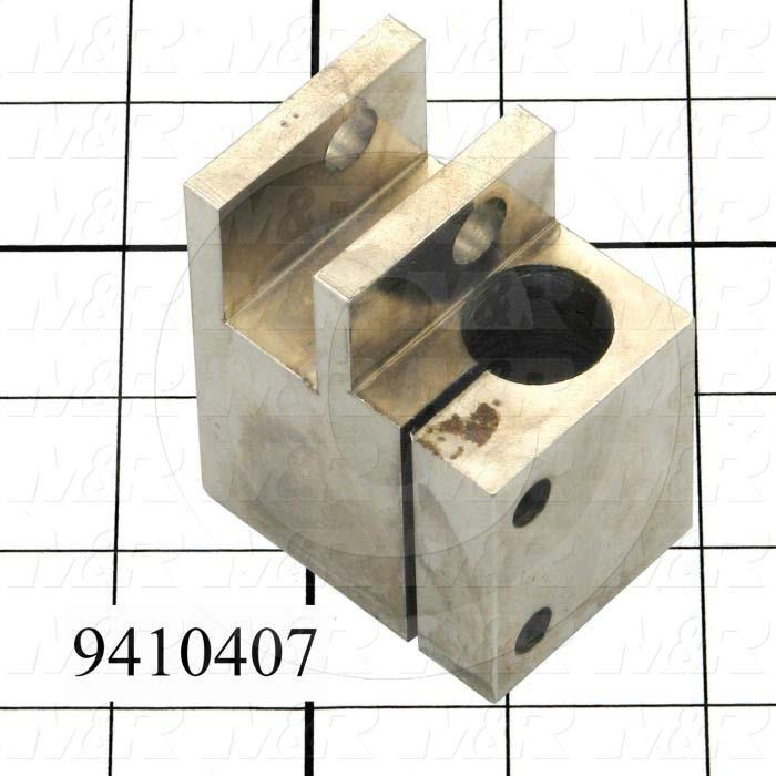 Fabricated Parts, Squeegee Holder Bracket, 2.50 in. Length, 2.06 in. Width, 1.50 in. Height, Right Side