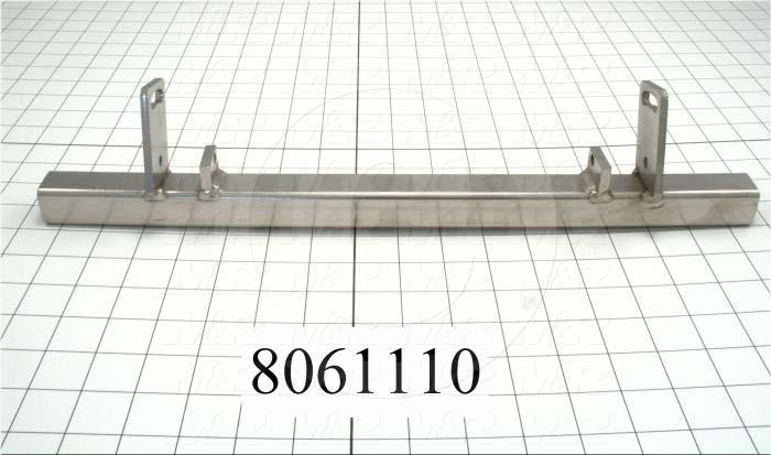 Fabricated Parts, Squeegee Mounting Bar, 17.00 in. Length