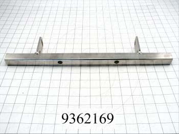 Fabricated Parts, Squeegee Mounting Bar, 18.00 in. Length