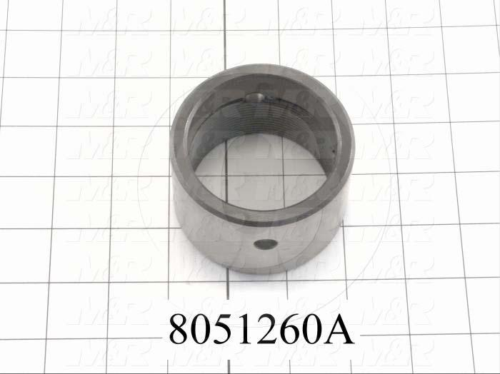 Fabricated Parts, Stop Collar, 3.00 in. Length, 2.00 in. Diameter