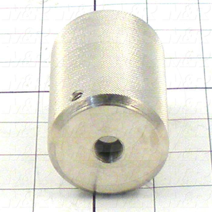 Fabricated Parts, Stroke Adjustment Knob, 2.88 in. Length, 2.00 in. Diameter
