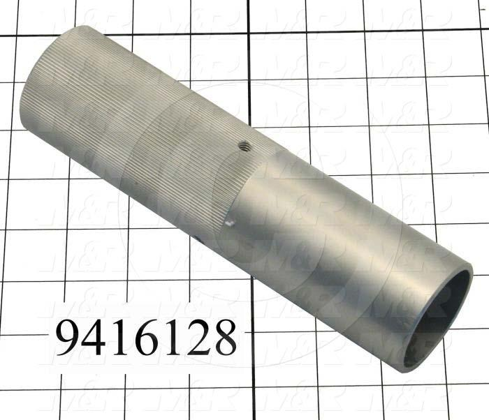 Fabricated Parts, Stroke Adjustment Knob, 7.63 in. Length, 2.00 in. Diameter