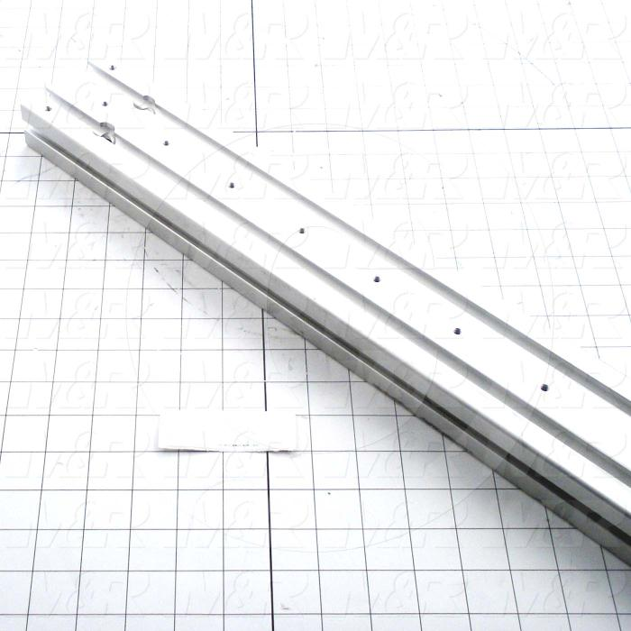Fabricated Parts, Support Beam, 41.00 in. Length, 3.15 in. Width, 1.58 in. Height