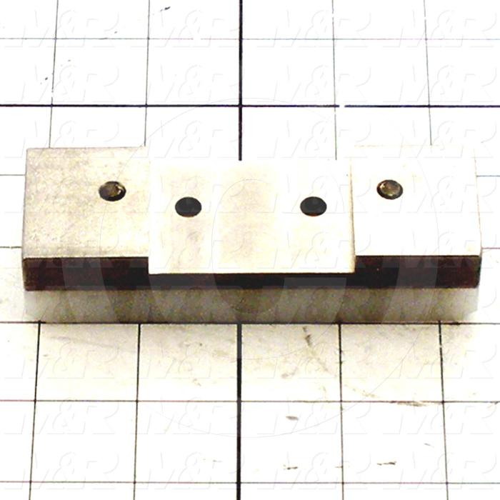 Fabricated Parts, Support Block Assembly, 4.50 in. Length, 1.75 in. Width, 1.00 in. Height - Details