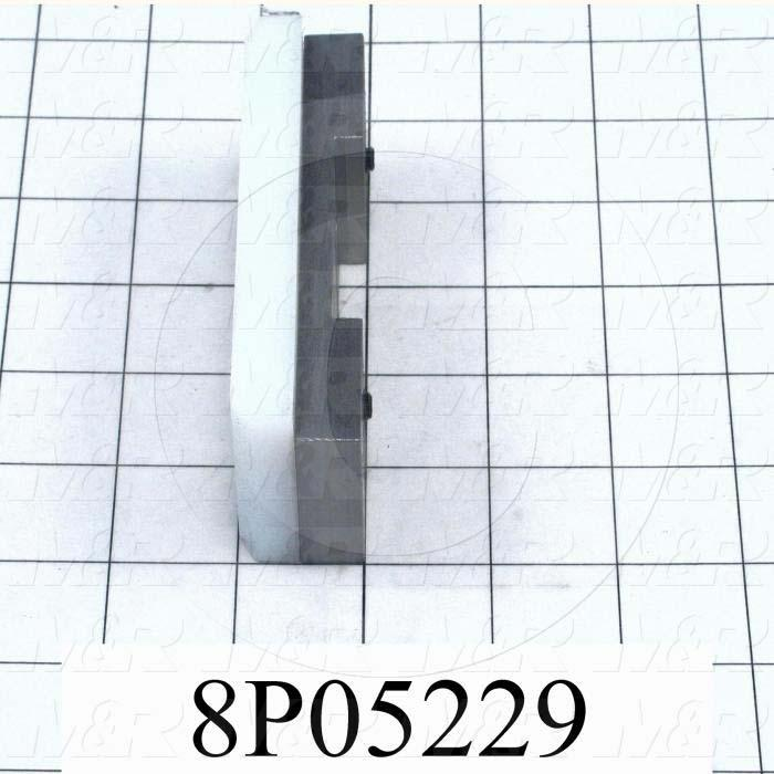 Fabricated Parts, Support Block Assembly, 4.50 in. Length, 1.75 in. Width, 1.00 in. Height
