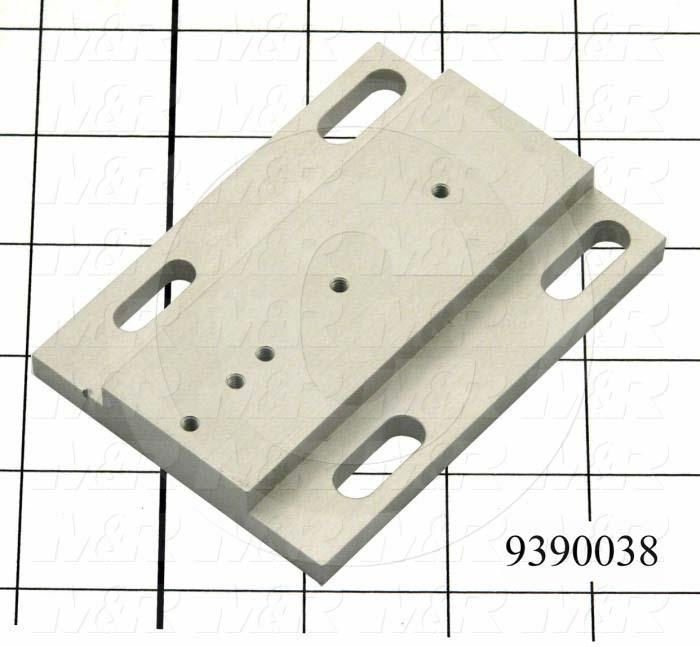 Fabricated Parts, Support Ring Connector, 3.00 in. Length, 1.50 in. Width, 1/4 in. Thickness