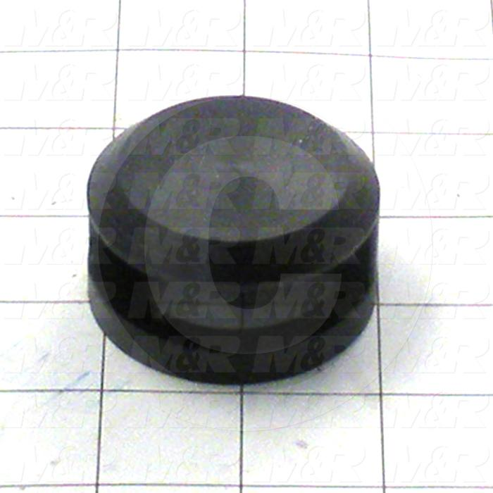 Fabricated Parts, Switch Lock Cover, 2.13 in. Diameter, 1.05 in. Thickness