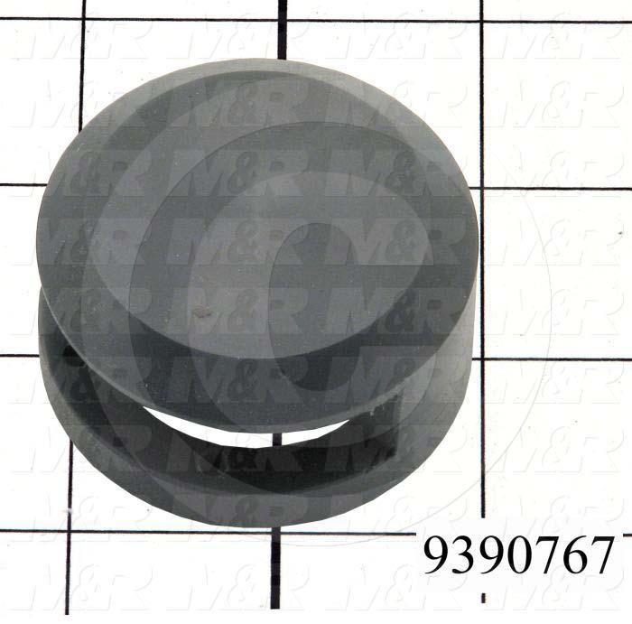 Fabricated Parts, Switch Lock Outer Body, 1.17 in. Length, 2.13 in. Diameter