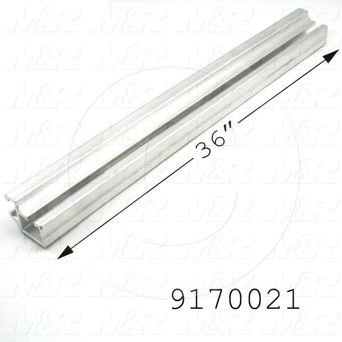 Fabricated Parts, Tension Bar, 36.00 in. Length, 2.44 in. Width, 1.94 in. Height