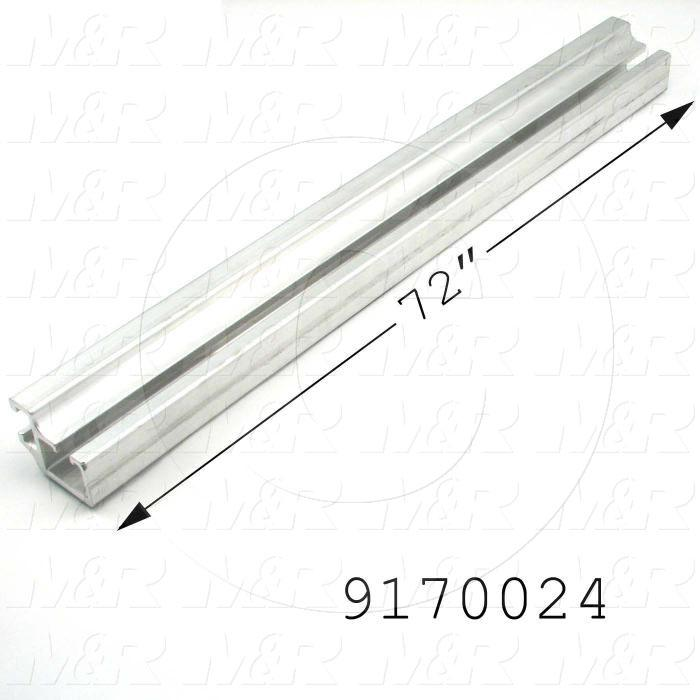 Fabricated Parts, Tension Bar, 72.00 in. Length, 2.44 in. Width, 1.94 in. Height