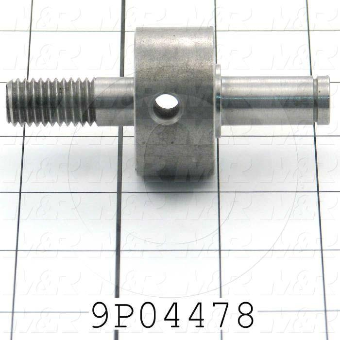 Fabricated Parts, Tension Shaft, 3.25 in. Length, 1.50 in. Diameter