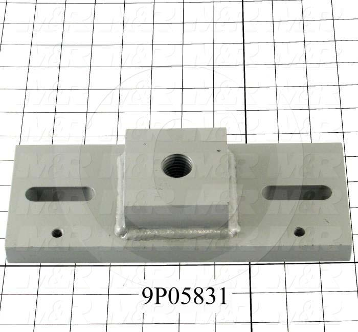 Fabricated Parts, Tensioner Mount Bracket, 10.00 in. Length, 4.00 in. Width, 2.00 in. Height
