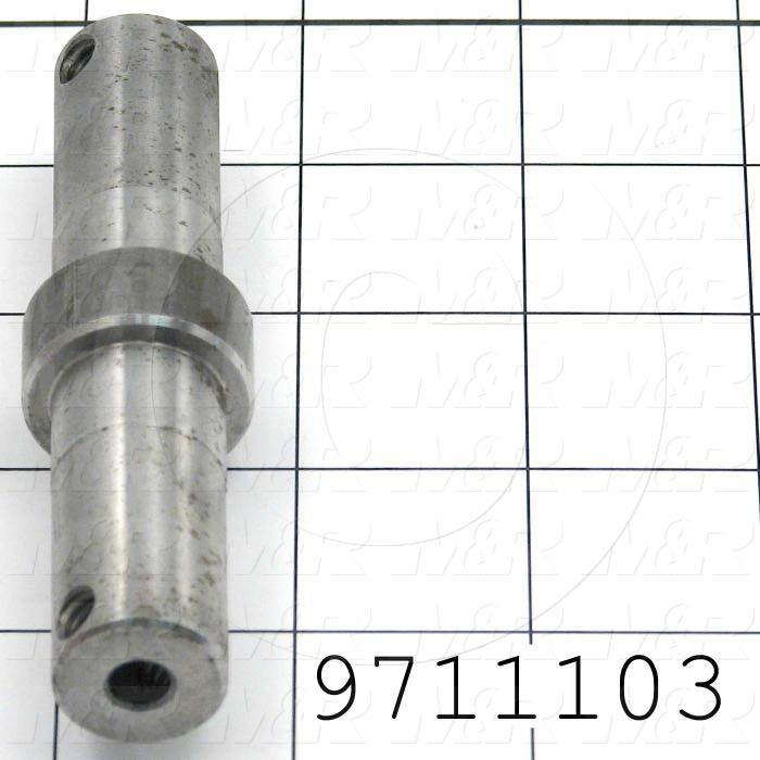 Fabricated Parts, Tensioner Shaft, 3.88 in. Length, 1.00 in. Thickness