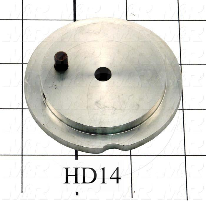 Fabricated Parts, Timing Cam, 0.44 in. Width, 3.00 in. Diameter